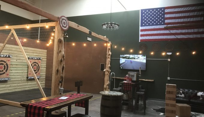 Axe Throwing Fun: Stumpy's Hatchet House Offers Unique Stress Reliever