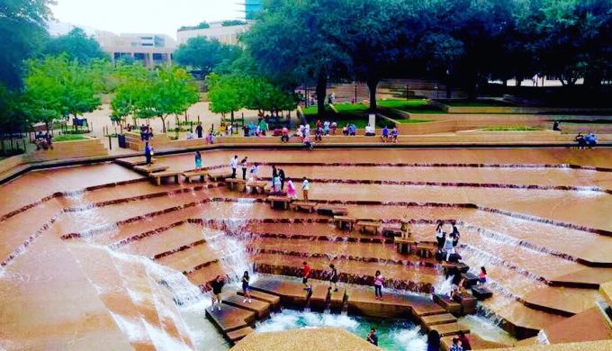 The Water Gardens of Fort Worth are Jaw-Droppingly Beautiful