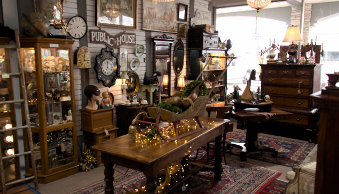 Let's Shop at Armadillo Antiques: Find Timeless Texas Treasures!
