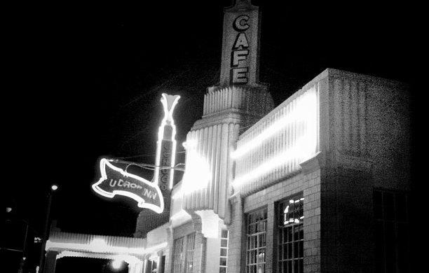 U-Drop Inn: Gorgeous Art Deco in a Lone Star State Town